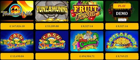 Jackpot Games