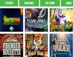 online casino slots real money