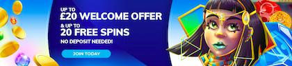 free spins signup bonus offer