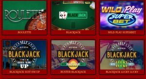 real money online casino table games