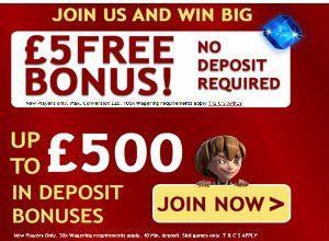 online casino free bonus no deposit
