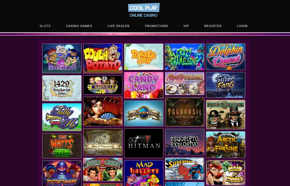 Coolplay online slots