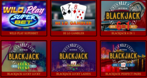 casino UK blackjack games online