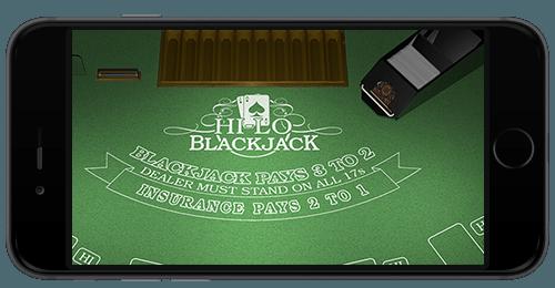 Blackjack Font -mobile