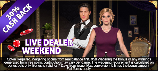 Live Dealer Offer