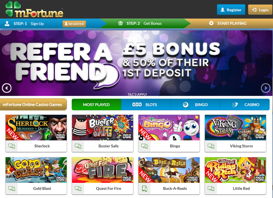 Mfortune free spins