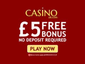Casino.uk No Deposit Offer