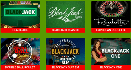 Casino.uk Blackjack Games