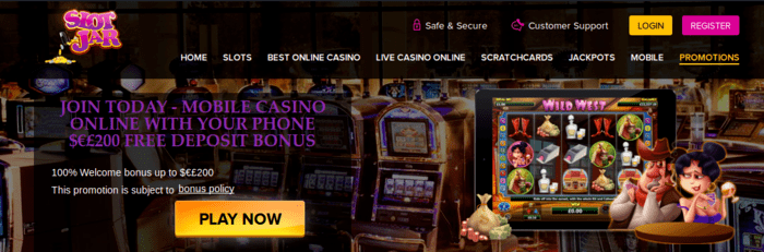 no deposit online Casinos