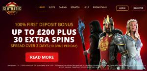 SlotMatic Online Casino Bonus Slots Spins