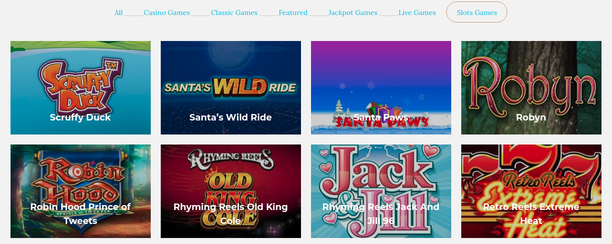 Cashless Gambling Retreat Games