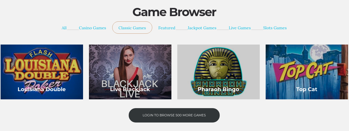 Free Live Casino Games
